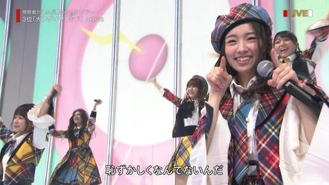 【朗報】さっほー、紅白歌合戦でまさかの大勝利!!!【AKB48・岩立沙穂】