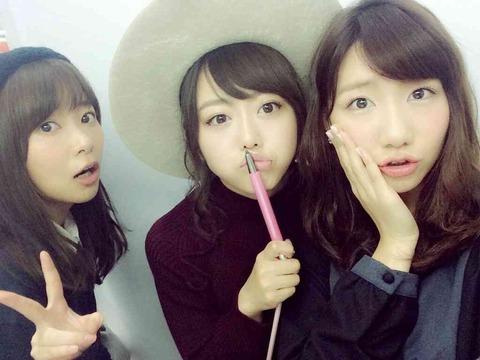 【AKB48】柏木由紀と峯岸みなみ、まだまだ卒業する気無し