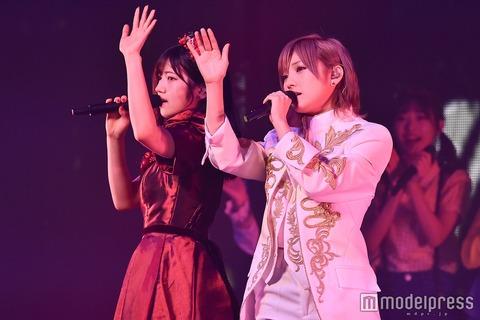 【AKB48】ゆうなぁコンWアンコール2時間45分のお見送りつきのサービス満載コンサート【岡田奈々・村山彩希】