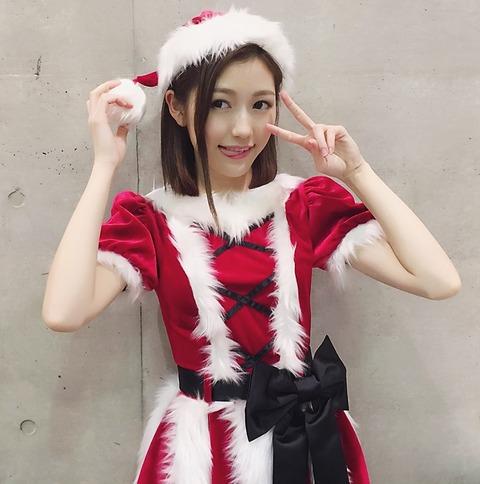【AKB48G】メンバーのサンタコスプレ画像で癒され隊
