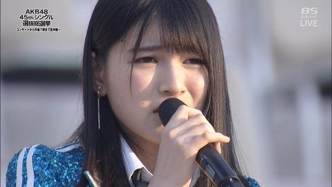 【HKT48】神志那結衣、スピーチ中に「おしっこ漏れそう」からの途中退場wwwwww