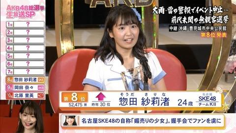 【SKE48】惣田紗莉渚「だったら私と同じことをしてみろ。できないでしょ?」