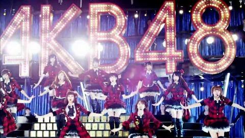 【AKB48】「重力シンパシー」MVのキラキラ感は異常