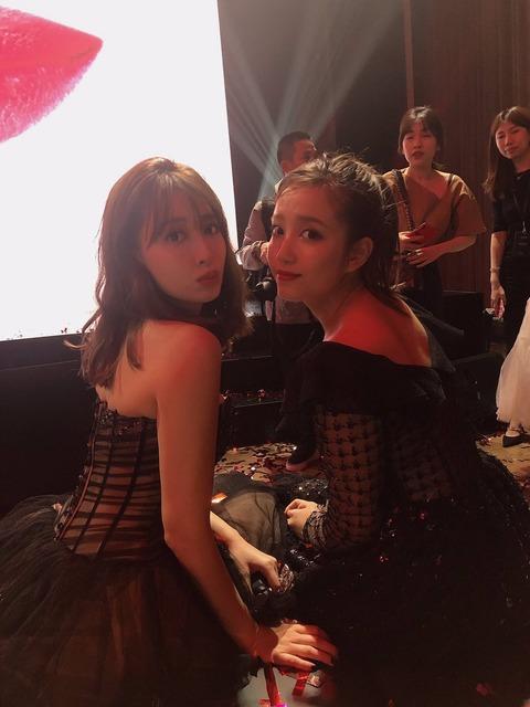 【朗報】AKB48加藤玲奈が北京で資生堂(SHISEIDO)のイベントに参加!