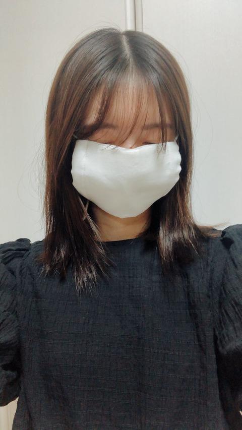 【元NMB48】市川美織「これで対策バッチリです #アベノマスク」