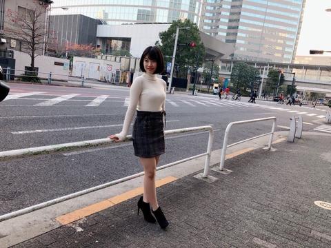 【朗報】HKT48朝長美桜ちゃんの着衣お●ぱいが凄すぎる!!!