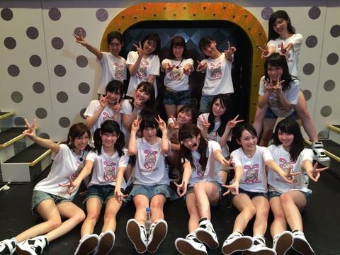 【AKB48G】若手は18歳までに頭ひとつ抜けないとブレイクできない