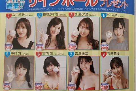 【NMB48】加藤夕夏さんの好きな球種wwwwww