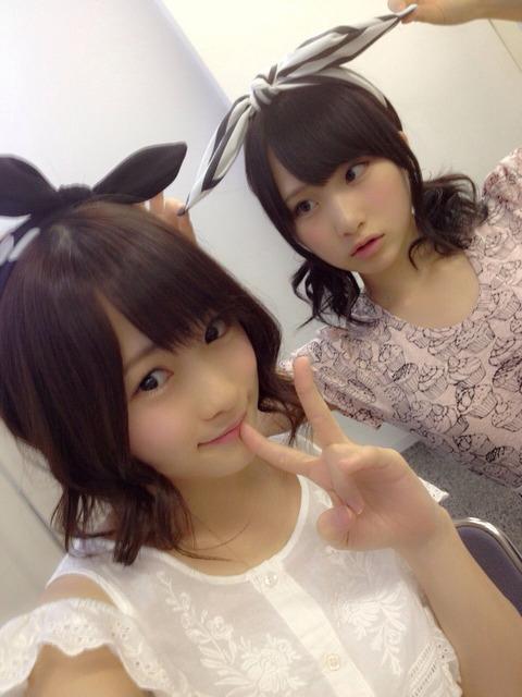 【AKB48G】先輩後輩の関係だけど仲がいい・絆が強いコンビ