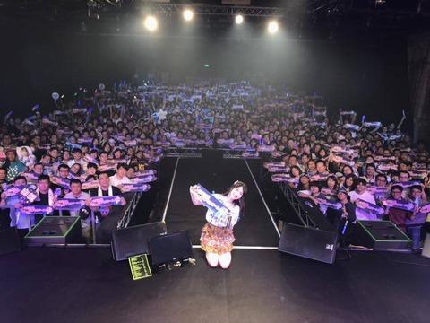 【AKB48】アジアツアーをソロで成功させた柏木由紀さん「来年も総選挙出ません」