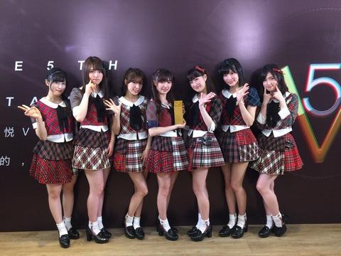 運営「AKB48の将来を担う次世代メンバーを香港に送り込んだった!」