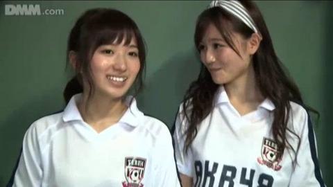【AKB48】こみはるが涼花に完全に惚れてしまった・・・【込山榛香・大島涼花】