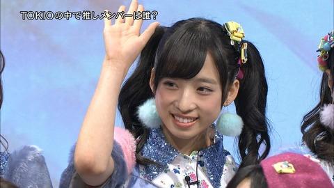 【朗報】チーム8小栗有以ちゃんがフジテレビに推される!