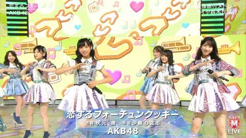 【定期】AKB48、11月28日のベストアーティストでまた恋チュン