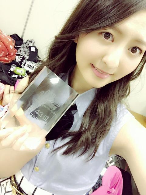 【AKB48総選挙】2014→2015、得票数減少ランキング