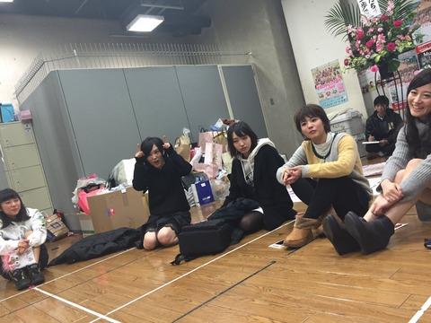 【NMB48】寝起きの太田夢莉が可愛い!これは間違いなく万年ですわ