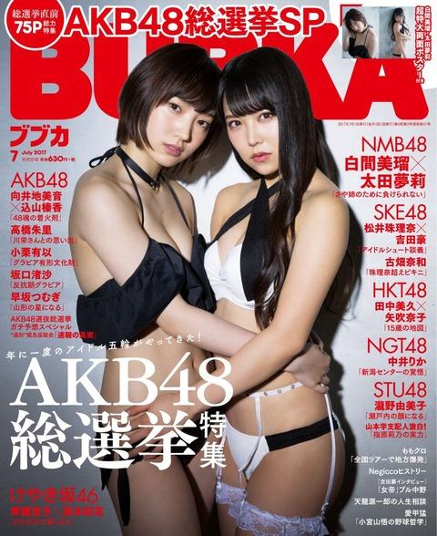 【画像】まーたNMB48が変態水着を着せられてるwww【太田夢莉・白間美瑠】