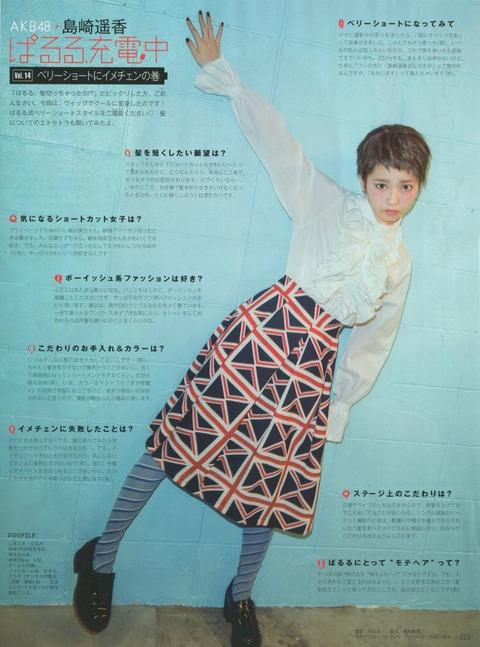 【悲報】ぱるる、峯岸化する【AKB48・島崎遥香】