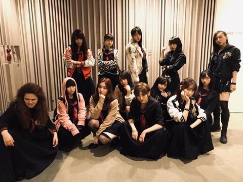 【悲報】AKB48さん、THE MUSIC DAYで今更マジスカロックンロールを披露してしまう