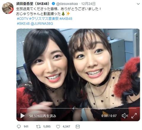 【AKB48総選挙】1位2位の扱い悪くない?なんで順位下の人が二人より前に立ってるの?【松井珠理奈・須田亜香里】
