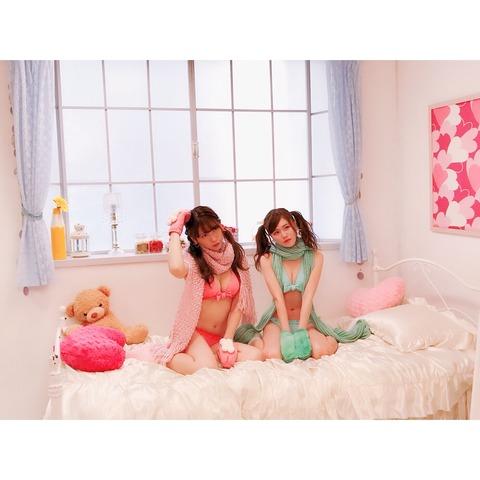 【画像】茂木ちゃんの水着マフラーエロ過ぎ!!!【AKB48・茂木忍】