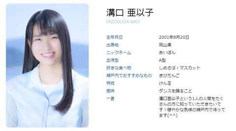 【STU48】ドラフト3期研究生・溝口亜以子、活動辞退のご報告