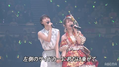 【朗報】SKE48高柳明音卒業コンサートに松井玲奈降臨!