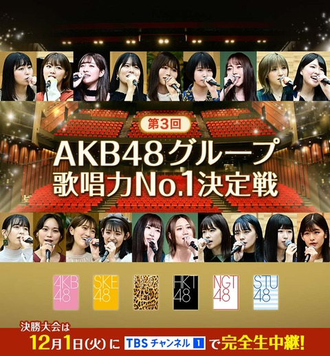 【STU48】 活動休止するなら「歌唱力No.1決定戦」の予選になんで出たんだよ・・・