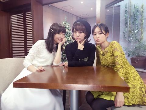 【朗報】前田敦子、高橋みなみ、指原莉乃の3人で「僕らの時代」出演!