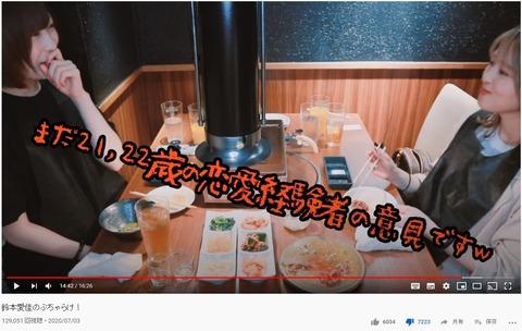 【元欅坂46】鈴本美愉と志田愛佳がYouTubeチャンネルを開設するも低評価&コメント欄でもフルボッコwww