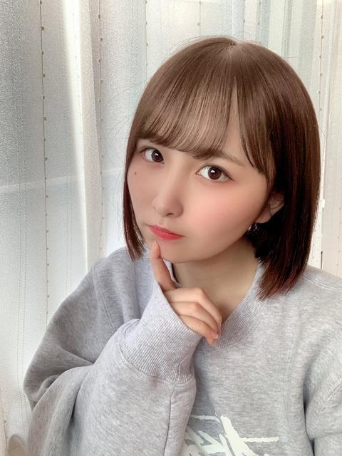 【AKB48】やまべあゆ!が茶髪になる【山邊歩夢】