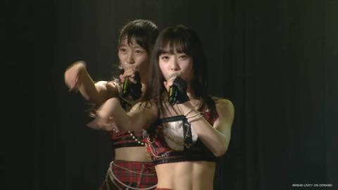 【NMB48】梅山恋和たん(14)の鍛え上げられた腹筋!!!【557】