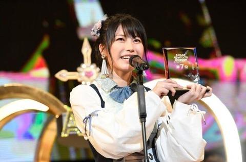 【AKB48総選挙】お前ら気付いていたか?あの横山由依がすらすらスピーチをしていたことに