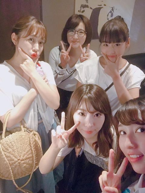 【元AKB48】片山陽加、仲川遥香、岩佐美咲、多田愛佳、仲谷明香ら高橋チームAメンバーが集結