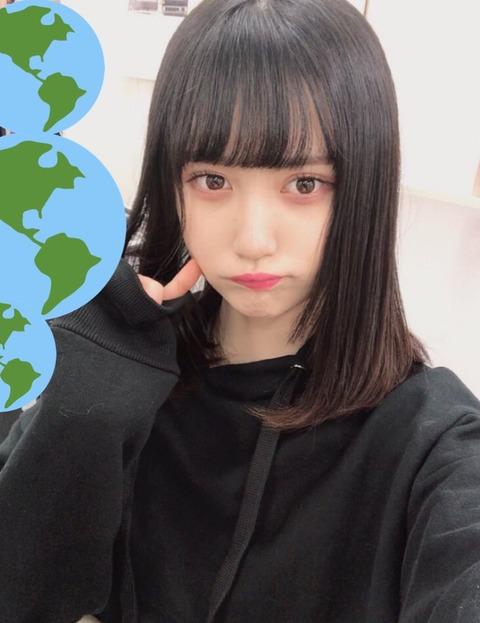 【NMB48】難波一の美少女、山本望叶さん「眼球痒過ぎるからちょっと誰か舐めて」