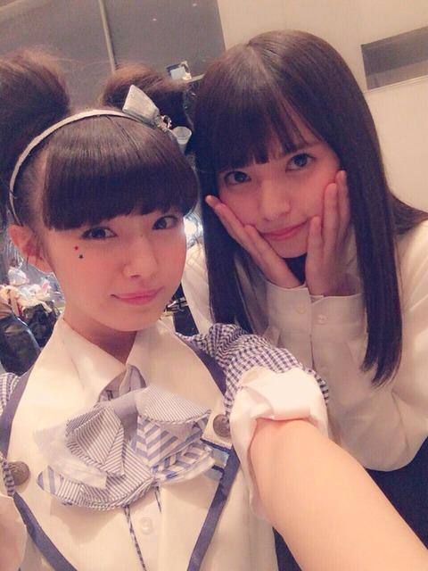 【朗報】NMB48市川美織が乃木坂齋藤飛鳥より小顔なことが判明