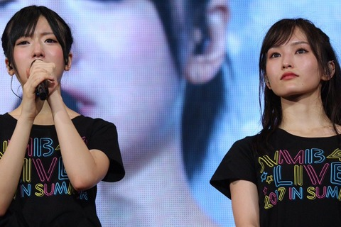 【悲報】NMB48のコンサートで須藤ヲタが拍手をしない観客に喧嘩を仕掛ける