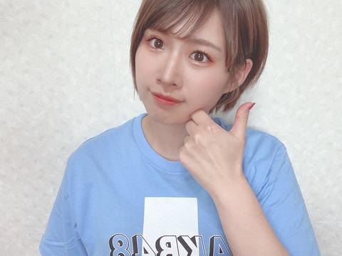【朗報】AKB48e運動会MVP、佐藤朱ちゃんの御褒美グラビアキタ━━━━(゚∀゚)━━━━!!