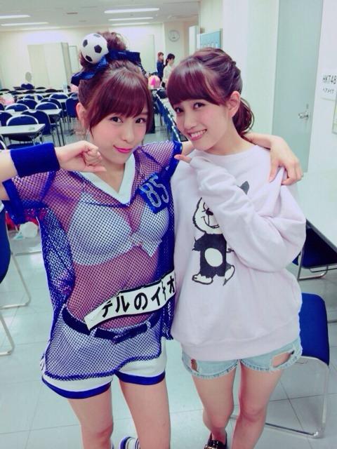 【AKB48総選挙】小嶋菜月「アンダーガールズに入ったら貝殻ビキニで公演、選抜入りしたら貝殻をシジミにする。」