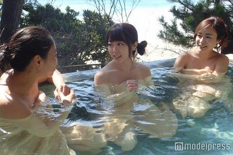 【画像あり】峯岸みなみの入浴シーンキタ━━━━\(゚∀゚)/━━━━ !!!!!