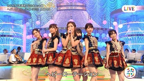 【AKB48】NHK「うたコン」キャプ画像まとめ
