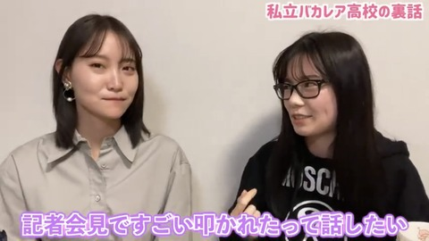 【元AKB48】島崎遥香「バカレアの記者会見でジャニヲタに叩かれたw」
