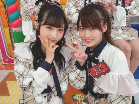 【AKB48】小栗有以と岡部麟、パイズリされたいのはどっち?
