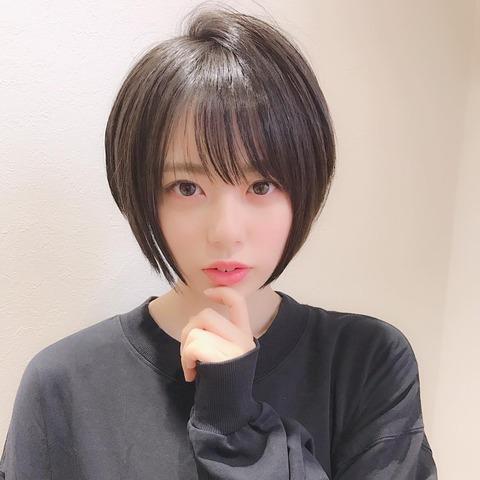 【AKB48】チーム8の濵咲友菜ちゃんが人生で一番髪を短く切った結果!!!