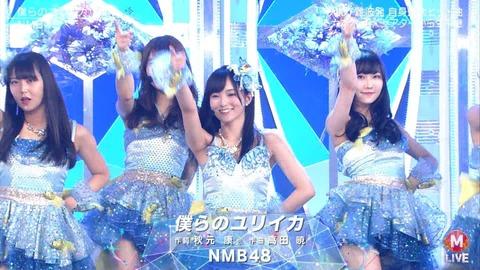 【NMB48】内木志「NMB最大のヒット曲が4年前なのが残念なので…もっと大ヒット出来るように頑張りたい」【僕らのユリイカ】