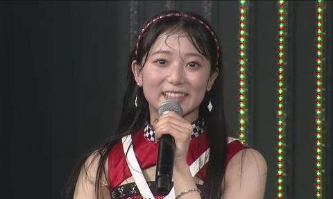 【NMB48】南波陽向、劇場公演で卒業発表