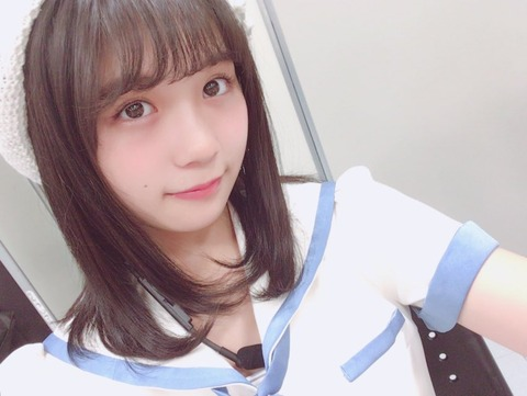 【SKE48】小畑優奈って可愛いけど色気がないんだよな