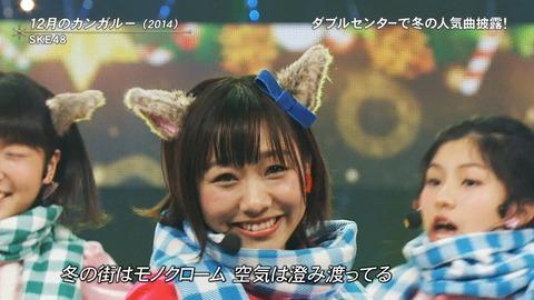 【定期スレ】SKE48須田亜香里がFNS歌謡祭で放送事故wwwwww
