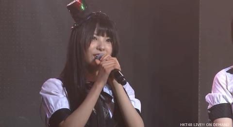 【HKT48】岡田栞奈、劇場公演にて卒業発表。卒業公演は3月22日