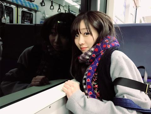 【SKE48】須田亜香里「#彼女と電車デートなう に使っていいよ」